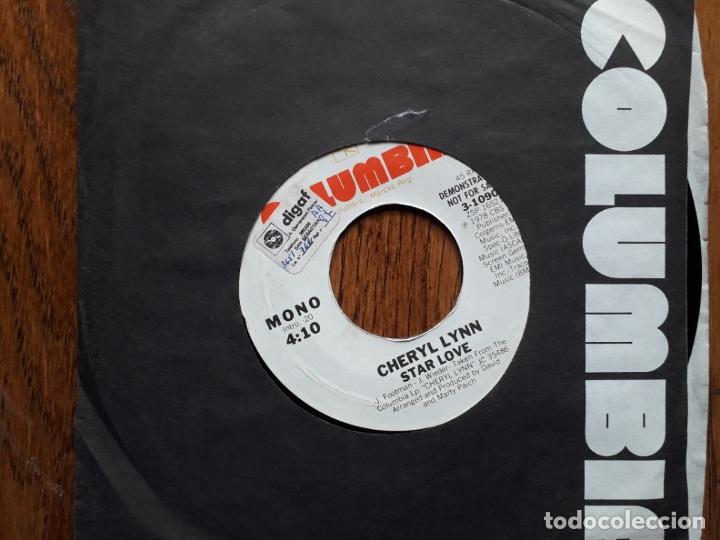 CHERYL LYNN - STAR LOVE (MONO) + STAR LOVE (STEREO) - PROMOCIONAL USA (Música - Discos - Singles Vinilo - Disco y Dance)