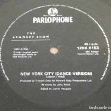 Discos de vinilo: THE ARMOURY SHOW / NEW YORK CITY / MAXI-SINGLE 12 INCH. Lote 181451025