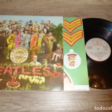 Discos de vinilo: THE BEATLES - SERGEANT PEPPERS LONELY HEARTS CLUB BAND (SPAIN 1967) (LABEL GRIS). Lote 181452852