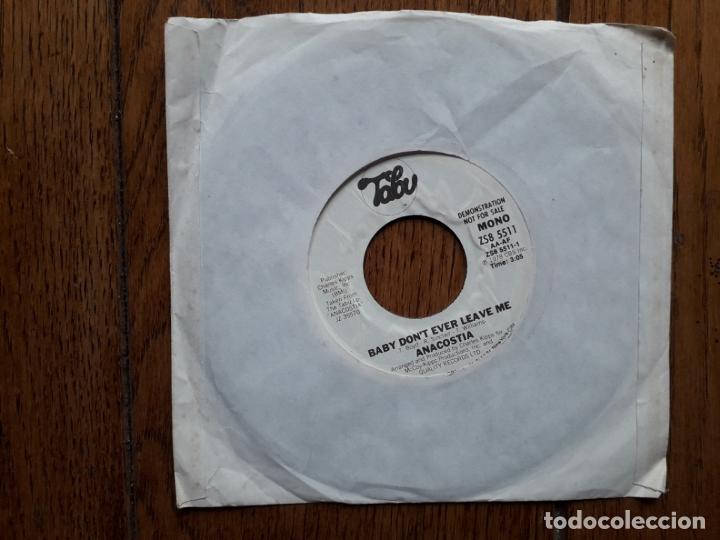 Discos de vinilo: Anacostia - baby don't ever leave me (stereo) + baby don't ever leave me (mono) - Foto 2 - 181453881