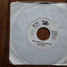Discos de vinilo: ANACOSTIA - BABY DON'T EVER LEAVE ME (STEREO) + BABY DON'T EVER LEAVE ME (MONO). Lote 181453881