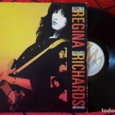 Discos de vinilo: REGINA RICHARDS AND RED HOT VINILO ORIGINAL 1981 LP. Lote 181456648