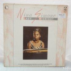 Discos de vinilo: DOBLE LP - NINA SIMONE / LADY MINDNIGHT / VSOP LP 106. Lote 181472252