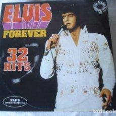 Discos de vinilo: ELVIS ELVIS FOREVER (32 HITS). Lote 181473716