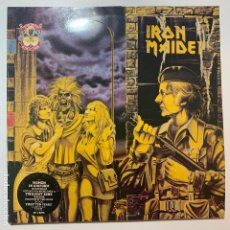 Discos de vinilo: DOBLE MAXI SINGLE VINILO 12'' GATEFOLD IRON MAIDEN WOMEN IN UNIFORM TWILIGHT ZONE UK 1990. Lote 181479771