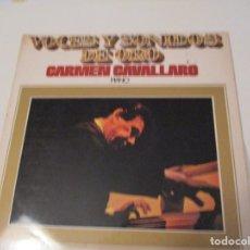 Discos de vinilo: DISCO VINILO. VOCES Y SONIDOS DE ORO . CARMEN CAVALLARO. PIANO. VOLUMEN 4. Lote 181480005