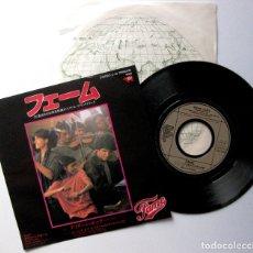Discos de vinilo: IRENE CARA - FAME - SINGLE RSO 1980 JAPAN (EDICIÓN JAPONESA) BPY. Lote 181484367