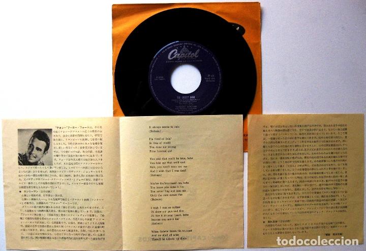 Discos de vinilo: Tennessee Ernie Ford - The Lonely Man - Single Capitol Records 1957 Japan (Edición Japonesa) BPY - Foto 3 - 181485353