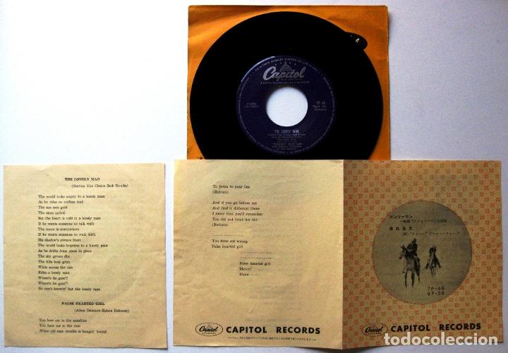 Discos de vinilo: Tennessee Ernie Ford - The Lonely Man - Single Capitol Records 1957 Japan (Edición Japonesa) BPY - Foto 4 - 181485353