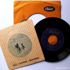 Discos de vinilo: TENNESSEE ERNIE FORD - THE LONELY MAN - SINGLE CAPITOL RECORDS 1957 JAPAN (EDICIÓN JAPONESA) BPY. Lote 181485353