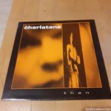 Discos de vinilo: THE CHARLATANS (SOLO CARATULA) THEN 1990. Lote 181488925