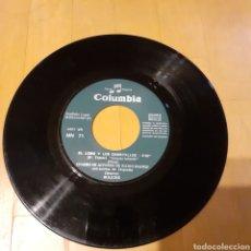 Discos de vinilo: CUENTO SINGLE EL LOBO Y LOS CABRITILLOS (SIN CARÁTULA) 1969 RADIO MADRID COLUMBIA RECORDS. Lote 181490840