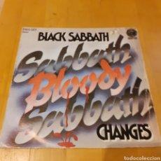 Discos de vinilo: BLACK SABATH SABATH BLOODY SABATH CARÁTULA SIN EL DISCO (VER FOTOS). Lote 181491607
