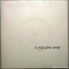 Discos de vinilo: A REAL GIVE-AWAY: ALBERT LEE: HIDING/ BRYN HAWORTH: KEEP THE BALL ROLLING. A&M UK 1979 EP PROMO. Lote 181494418