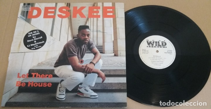 DESKEE / LET THERE BE HOUSE / MAXI-SINGLE 12 INCH (Música - Discos de Vinilo - Maxi Singles - Rap / Hip Hop)