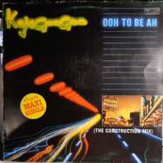 Discos de vinilo: KAJAGOOGOO-OOH TO BE AH (THE CONSTRUCTION MIX). Lote 181506616
