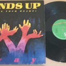 Discos de vinilo: SWAY / HANDS UP (GIVE ME YOUR HEART) / MAXI-SINGLE 12 INCH. Lote 181507385