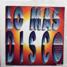 Discos de vinilo: LO MAS DISCO LP VINILO. Lote 181508910