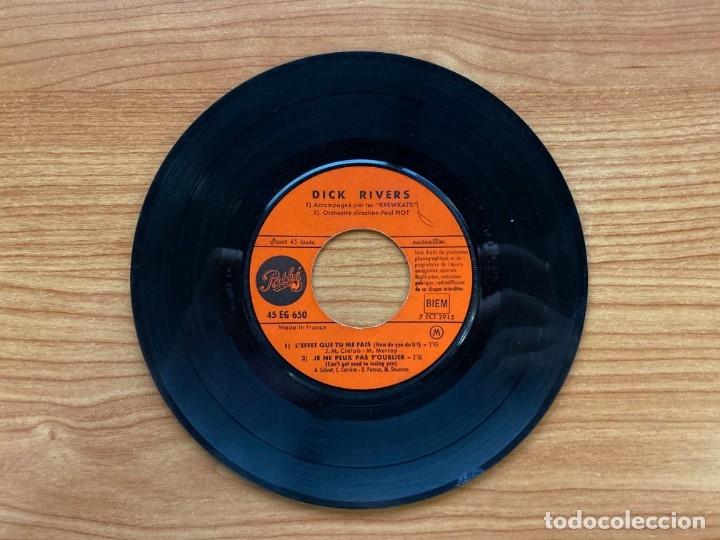 Discos de vinilo: Dick Rivers // L'Effet Que Tu Me Fais // EP 7 pulgadas - Foto 3 - 181511193