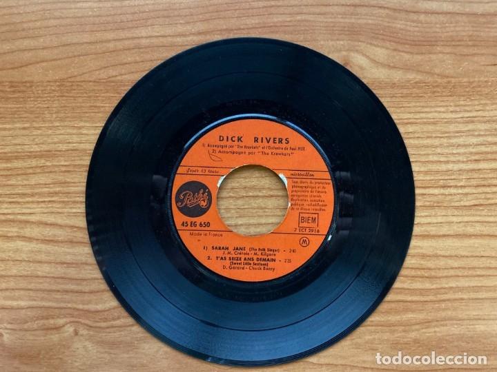 Discos de vinilo: Dick Rivers // L'Effet Que Tu Me Fais // EP 7 pulgadas - Foto 4 - 181511193