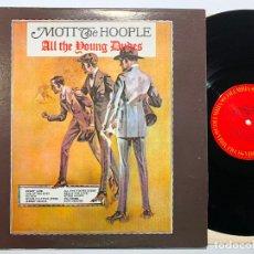 Disques de vinyle: DISCO LP VINILO MOTT THE HOOPLE – ALL THE YOUNG DUDES EDICION AMERICANA DE 1972. Lote 181512927