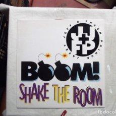 Discos de vinilo: BOOM ! SHAKE THE ROOM LP VINILO. Lote 181513466