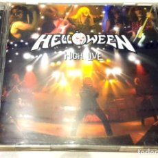 Discos de vinilo: HELLOWEEN HIGH LIVE DOBLE CD. Lote 181515886