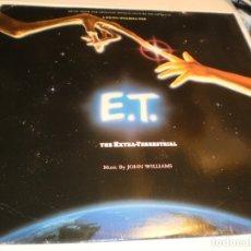 Discos de vinilo: LP E. T. THE EXTRA-TERRESTRIAL. DE STEVEN SPIELBERG FILM. MCA RECORDS 1982 GERMANY (PROBADO Y BIEN). Lote 181516766