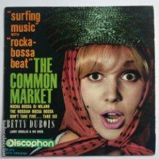 Discos de vinilo: BETTY DUBOIS - EP SPAIN PS - SURFIN MUSIC WITH ROCKA-BOSSA BEAT - AÑO 1964. Lote 181525881