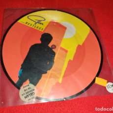 Dischi in vinile: GILLAN RESTLESS/ON THE ROCKS 7'' EP 1981 UK PICTURE DISC. Lote 181525891