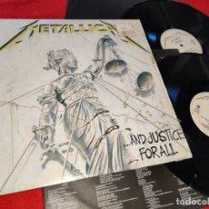 Discos de vinilo: METALLICA...AND JUSTICE FOR ALL 2LP 1988 VERTIGO SPAIN ESPAÑA. Lote 181527103