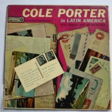 Discos de vinilo: COLE PORTERE - EP SPAIN PS - PETE TERRACE AND HIS ORCHESTRA * IN LATIN AMERICA. Lote 181527887