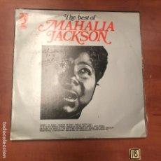 Discos de vinilo: THE BEST OF MAHALIA JACKSON. Lote 181528445