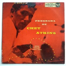 Dischi in vinile: CHET ATKINS - EP SPAIN PS - INDIANA. Lote 181529402