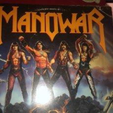 Discos de vinilo: MANPOWER FIGHTING THE WORLD. Lote 181535311