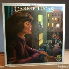 Discos de vinilo: CARRIE LUCAS - STREET CORNER SYMPHONY LP VINILO 1978 RCA VICTOR ESPAÑA - FUNK / SOUL, DISCO - G+/VG . Lote 181535986