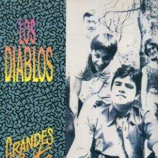 Discos de vinilo: LOS DIABLOS - GRANDES EXITOS. Lote 181537457