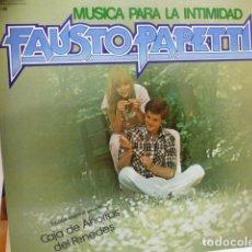 Discos de vinilo: FAUSTO PAPETTI -MUSICA PARA LA INTIMIDAD-. Lote 181539142