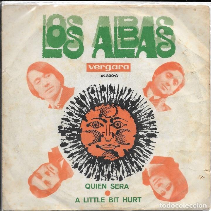 LOS ALBAS QUIEN SERA VERGARA 1969 (Música - Discos - Singles Vinilo - Grupos Españoles 50 y 60)