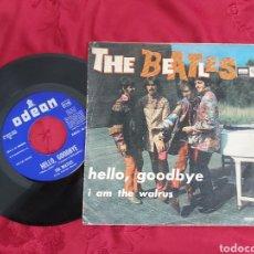 Discos de vinilo: THE BEATLES - I AM THE WALRUS - HELLO, GOODBYE. Lote 181550276