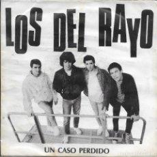 Discos de vinilo: LOS DEL RAYO UN CASO PERDIDO OIHUKA 1990. Lote 181550433