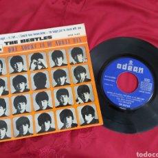Discos de vinilo: THE BEATLES - QUE NOCHE LA DE AQUEL DIA. Lote 181552185