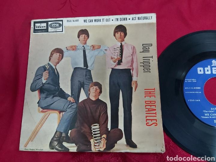 Discos de vinilo: THE BEATLES- DAY TRIPPER - Foto 2 - 181552876