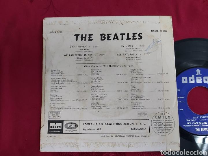 Discos de vinilo: THE BEATLES- DAY TRIPPER - Foto 3 - 181552876
