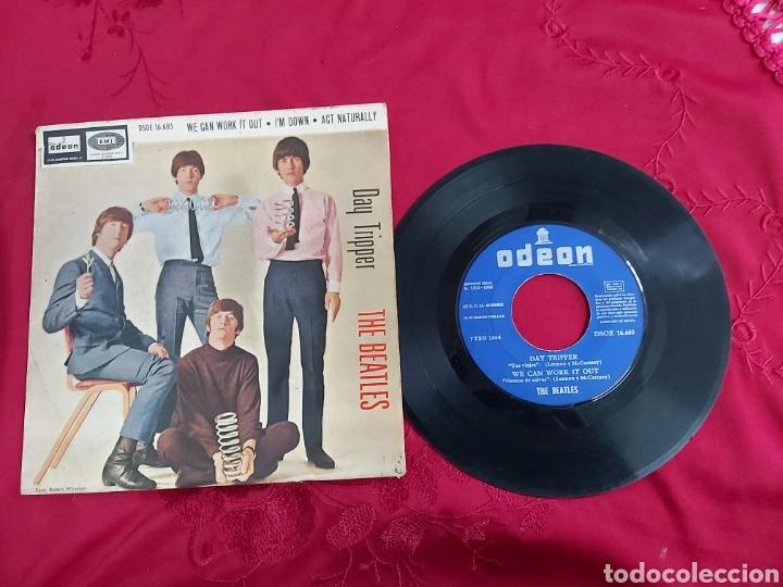 THE BEATLES- DAY TRIPPER (Música - Discos - Singles Vinilo - Pop - Rock Internacional de los 50 y 60)