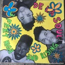 Discos de vinilo: DE LA SOUL - 3 FEET HIGH AND RISING . LP . 1989 GERMANY. Lote 181560771
