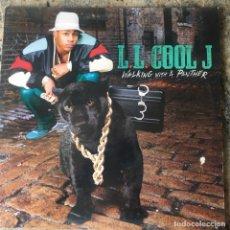 Discos de vinilo: L.L. COOL J - WALKING WITH A PANTHER . LP . 1989 HOLLAND. Lote 181561307