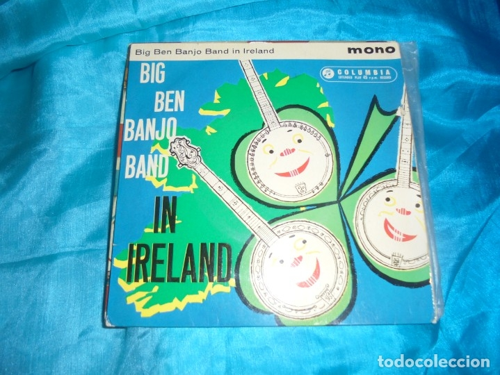 BIG BEN BANJO BAND IN IRELAND. COLUMBIA, 1961. EDC. INGLESA (Música - Discos de Vinilo - EPs - Country y Folk)