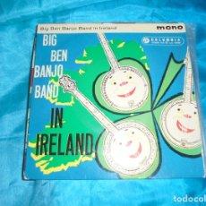 Discos de vinilo: BIG BEN BANJO BAND IN IRELAND. COLUMBIA, 1961. EDC. INGLESA. Lote 181562263