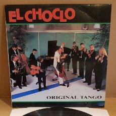 Discos de vinilo: EL CHOCLO / ORIGINAL TANGO / LP - PERFILO-1989 / MBC. ***/***. Lote 181565881